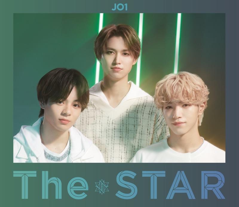 JO1 TheSTAR 初回Green ジャケット写真