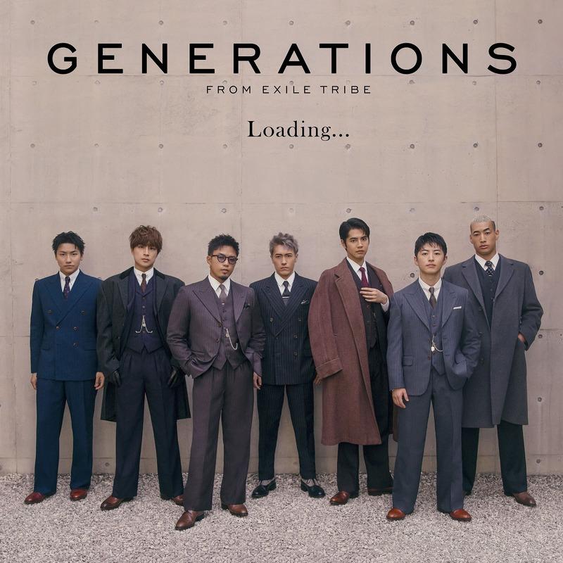 GENERATIONS Loading... CD+DVD ジャケット写真