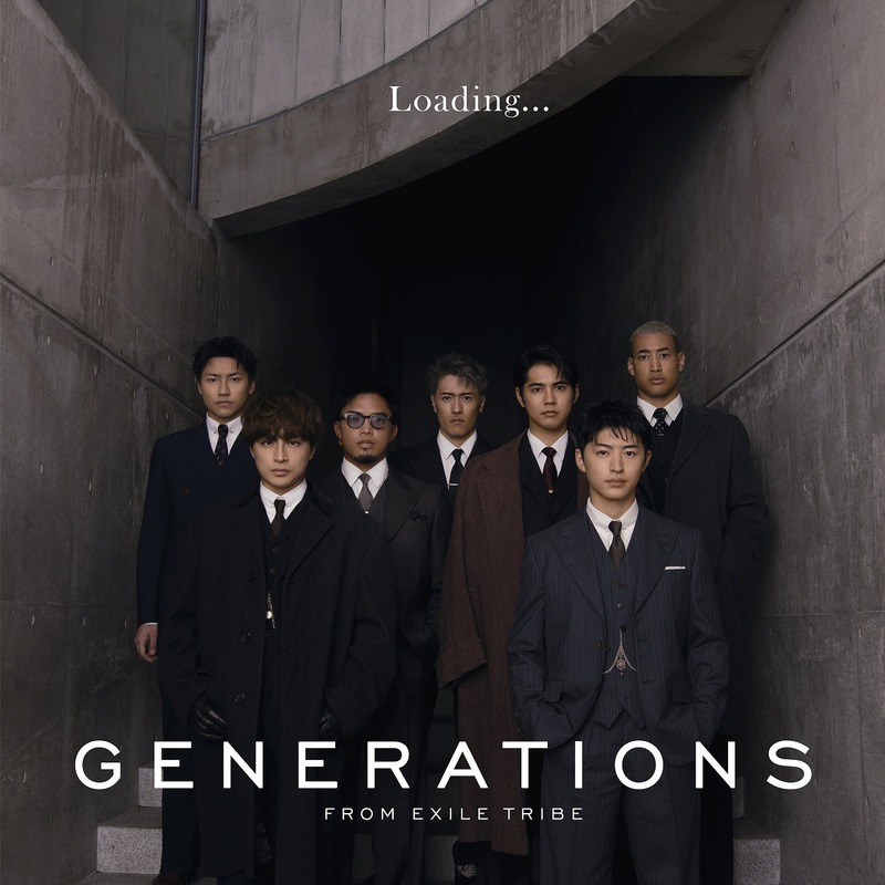 GENERATIONS Loading... CDONLY ジャケット写真
