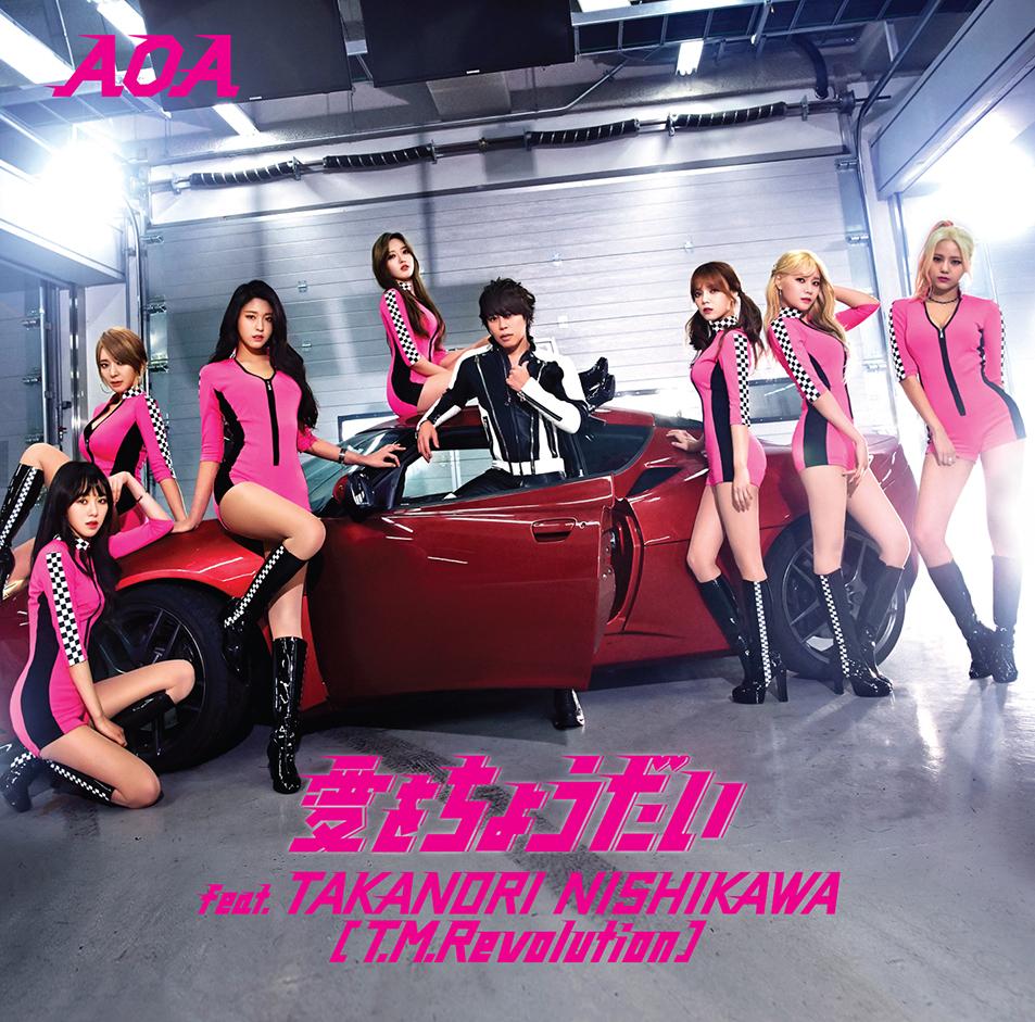 AOA セクシー衣装 新曲