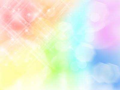 虹色の画像