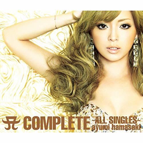 浜崎あゆみ A COMPLETE ~ALL SINGLES~ ジャケット写真